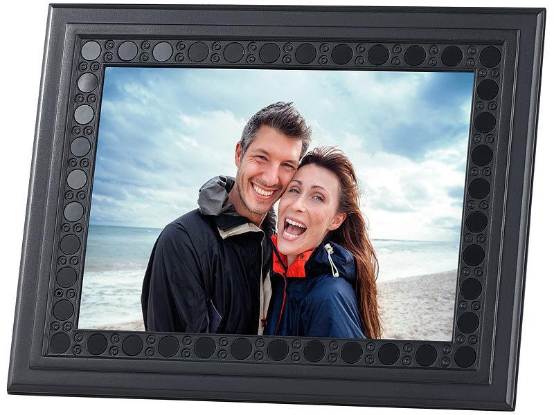 OctaCam Bilderrahmen mit HD-Überwachungskamera, PIR, Nachtsicht, 2 J ...