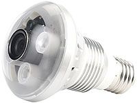 OctaCam LED-Lampe, 3W, E27 mit HD-Kamera und IR-LEDs (refurbished)
